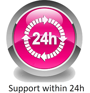 tdb labs offers support within 24 hours for all of our customers